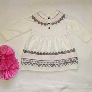 Carters 6 mo sweater dress